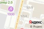 Схема проезда до компании СКБ Приморья Примсоцбанк в Москве