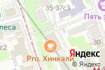 Схема проезда до компании Merely Style в Москве