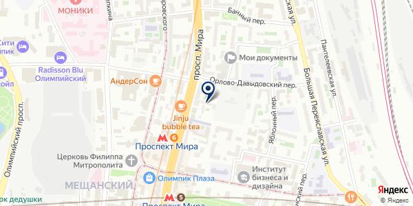 ТД БРАНД на карте Москве