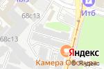 Схема проезда до компании Урсдон в Москве