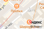 Схема проезда до компании Винсел в Москве