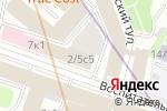 Схема проезда до компании Ассоциация финансово-промышленных групп России в Москве