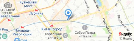 Табак на карте Москвы