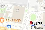 Схема проезда до компании ЛСР. Недвижимость-М в Москве