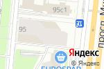 Схема проезда до компании VV-MOTORS в Москве