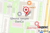 Схема проезда до компании Евродорстрой в Москве