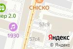 Схема проезда до компании Brent City в Москве