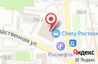 Схема проезда до компании М-Проект в Москве
