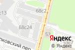 Схема проезда до компании Столица Рекордс в Москве