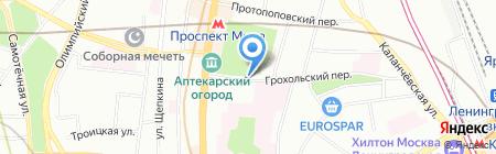 Cocon Home на карте Москвы