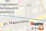 Схема проезда до компании Встократ в Москве