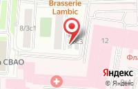 Схема проезда до компании Главстрой в Москве