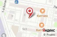 Схема проезда до компании Апрель Мьюзик в Москве