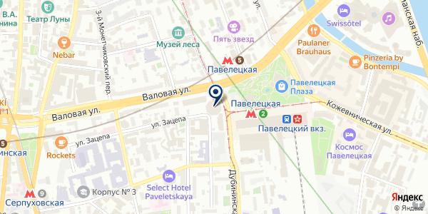 ПРЕДСТАВИТЕЛЬСТВО В РОССИИ КБ BRUNSWICK UBS на карте Москве