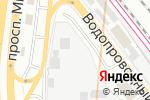 Схема проезда до компании ГазТент в Москве