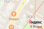 Схема проезда до компании Московская Школа Йоги в Москве