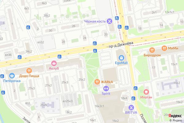 Ремонт телевизоров Район Медведково Южное на яндекс карте