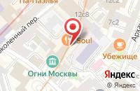 Схема проезда до компании Олтри в Москве