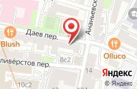 Схема проезда до компании Консул в Москве