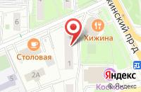 Схема проезда до компании Танаис в Москве