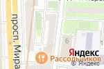 Схема проезда до компании Paradis-amour.ru в Москве