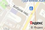 Схема проезда до компании Российская академия живописи в Москве