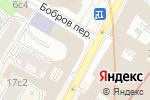 Схема проезда до компании РАЖВИЗ в Москве