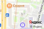 Схема проезда до компании КОПИРУС в Москве