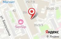 Схема проезда до компании Жилстройиндустрия в Москве