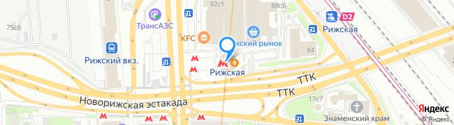 метро Рижская