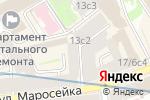 Схема проезда до компании Шуваловские окна в Москве