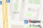 Схема проезда до компании Медсервис Бьюти в Москве