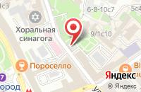 Схема проезда до компании Солянка в Москве