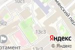 Схема проезда до компании БАХмейкер в Москве