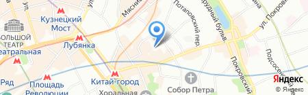 МСК Недвижимость на карте Москвы