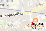 Схема проезда до компании Ёптибей в Москве