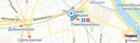 Adecco на карте Москвы