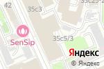 Схема проезда до компании На шпагате в Москве