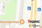 Схема проезда до компании Миамор в Москве