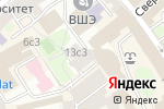 Схема проезда до компании АФМ в Москве