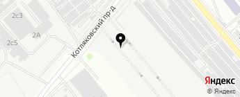 Компания по подбору автомобилей на карте Москвы
