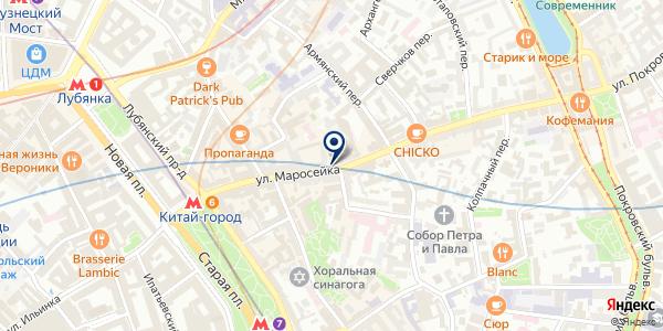 БЫКground на карте Москве
