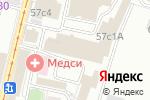 Схема проезда до компании DebitCredit в Москве