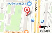 Схема проезда до компании Партнеръ в Москве