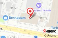 Схема проезда до компании Инстант в Москве