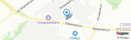 Инстант на карте Москвы