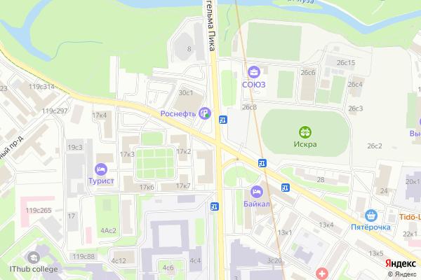 Ремонт телевизоров Улица Сельско хозяйственная на яндекс карте