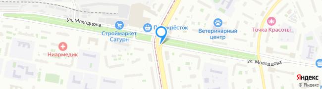 улица Молодцова