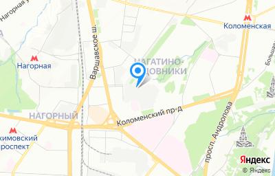 Местоположение на карте пункта техосмотра по адресу г Москва, ул Нагатинская, д 16А стр 240