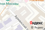 Схема проезда до компании Связь времен в Москве